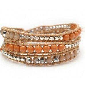 New Handmade Katie Soleil 3 Wrap Bracelet Hairband